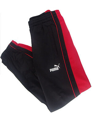 Kids Boys/Girls Puma Bottoms Joggers in BLACK/RED Colours!!!!!