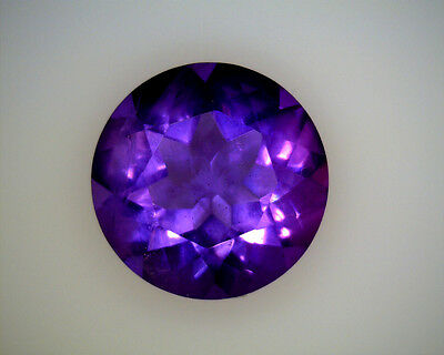 Natural Fine Deep Russian Purple Amethyst - Round - Aaa Grade - Loose Gemstone