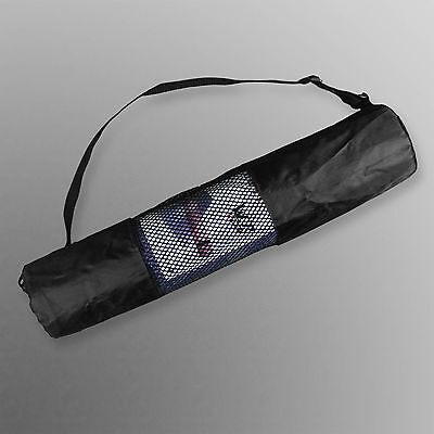 We R Sports Yoga Mat Carrier Bag Nylon Mesh Adjustable Strap Washable Exercise