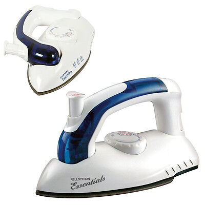 Travel Iron Ultra Compact Folding Steam & Dry Non-Stick Iron For World Wide Use