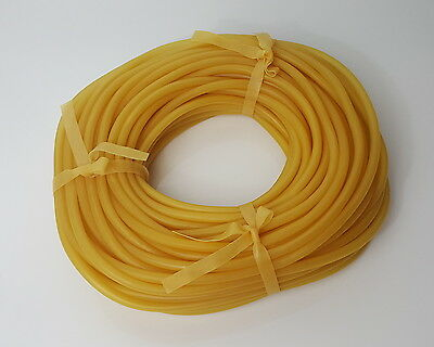 "5 Feet - 1/4"" - Latex Rubber Tubing - Surgical Grade - New"