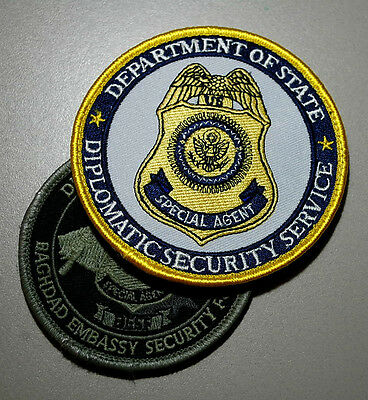 2002 Obsolete Osac State Dept Diplomatic Dss Us Embassy Baghdad Iraq Besf Set