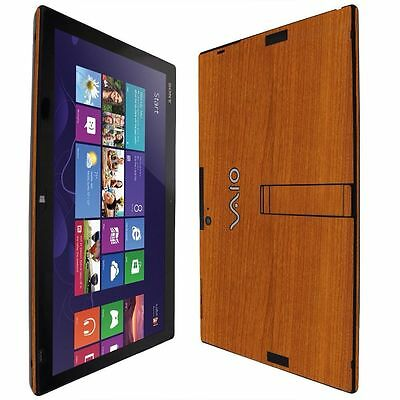 Skinomi Light Wood Skin+Screen Protector Cover for Sony Vaio Tap 11 SVT11213CXB