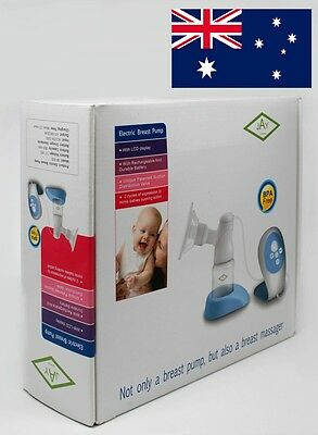 Electric Breast Pump + LCD Remote by JAY with massage feature