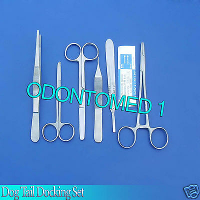 Dog Tail Docking Kit Surgical Veterinary Instruments,DS-610