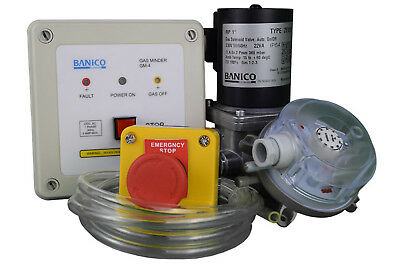 "Gas Interlock Minder System with Gas Solenoid Valve 1"" (28mm)"