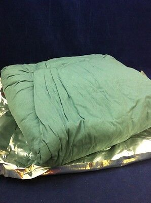 "Military Hospital Bed 2 Sheet Set 108""x72""+ 2 32""x32"" Drapes Foil Pack No. 58"