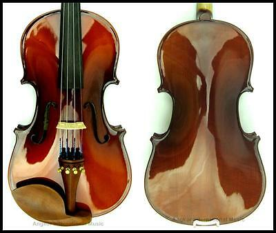 Violin 3/4 Labeled Lorenzo Ascoli + Case & Bow outfit Pirastro Violino Strings