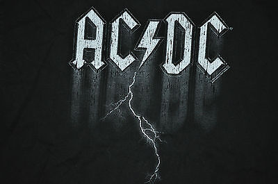 T-Shirt Acdc Ac Dc Heavy Metal Rock Band Angus Young Malcolm Phil Rudd