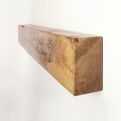 4x8 Rustic Fireplace Mantel Oak Beam by Funky Chunky Furniture