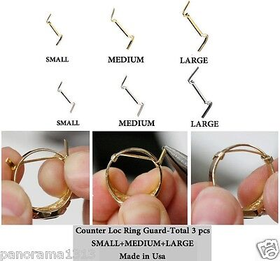 Stronghold Comfortable Ring Guard Adjuster-Counter loc-14 kt gold filled Guards