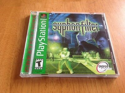 Syphon Filter  (PlayStation, 1999) Greatest Hits!