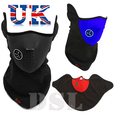 Bike Motorcycle Ski Thermal Face Neck Warmer Mask Balaclava Outdoor Sport