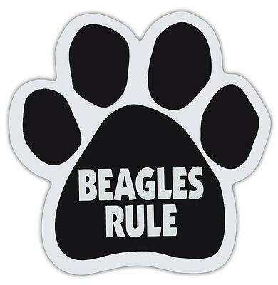 Dog Paw Shaped Magnets: BEAGLES RULE | Dogs, Gifts, Cars, Trucks