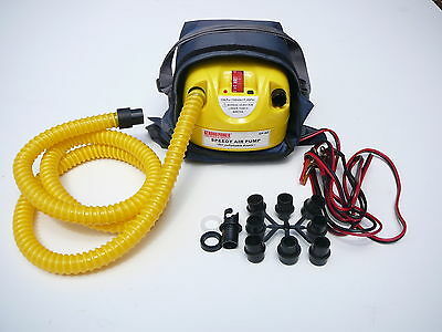 12V Electric Air pump. Inflatable/ kitesurfing/ SUP Compressor - Boat Inflator