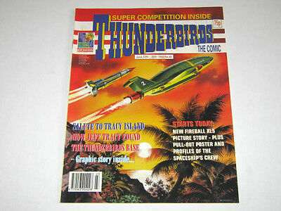 THUNDERBIRDS COMIC No 44. with FIREBALL XL5 CENTRE PAGES CREW POSTER
