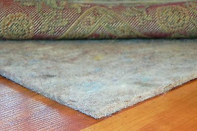 "New Modern ¼"" Thick 20 Ounce Felt Area Rug Carpet Pads by Mohawk"