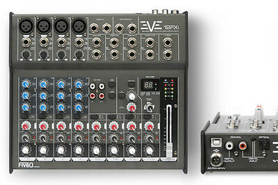 MONTARBO FIVEO EVE 12FXI MIXER PROFESSIONALE 12CH + fx + usb