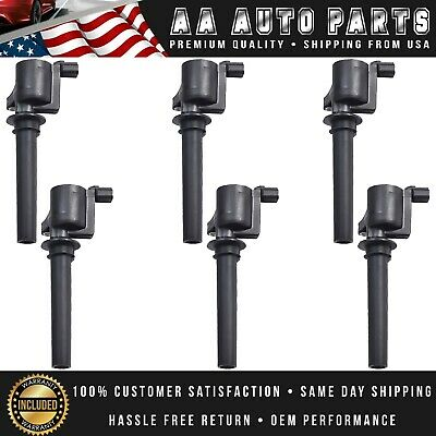 Ignition Coil Set of 6 FD502 DG500 DG513 for Escape Ford Mazda Mercury 3.0L V6