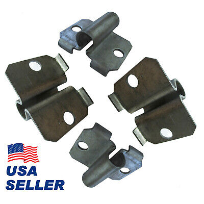 Side Bracket Caster Socket for 7/16-in. Grip-Ring Stem. Set of 4 For Furniture