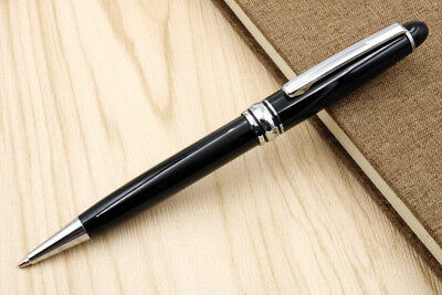 jinhao silver black Good quality writing fluency hot BALLPOINT pen