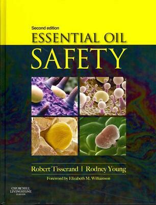 Essential Oil Safety by Robert Tisserand Hardcover Book (English)