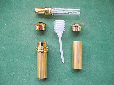 Woodturning PURSE PERFUME ATOMIZER Kit in Gold