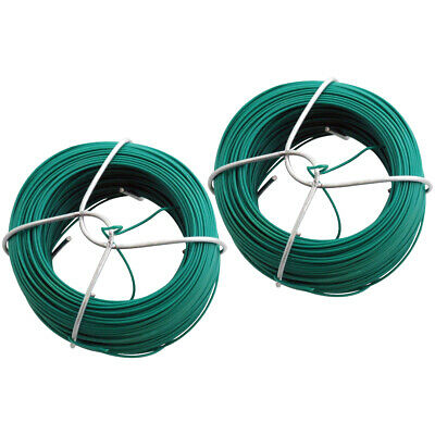 2pc 50m Garden Wire Set Fencing Plant Support Florists Home Picture Hanging