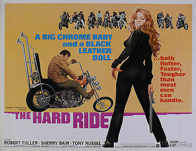 """""""THE HARD RIDE""""  .Classic Movie Poster A1A2A3A4 Sizes"""