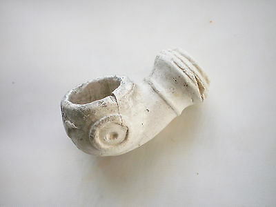 100% Authentic Medieval Antique Clay Tobacco Pipe 16-17 century AD #18
