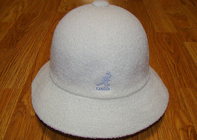 80558c227bcf2a WHITE KANGOL Bermuda Casual Bucket Hat Style 0397BC - $54.40 | PicClick
