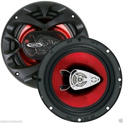 "New Boss Audio Systems CH6530 Chaos Series 6.5"" Inch 3 Way Speakers"