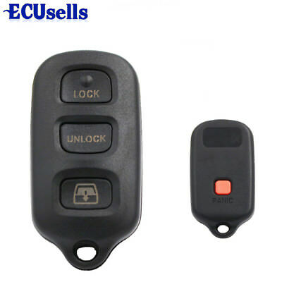 Remote Keyless Shell for TOYOTA Sequoia 4Runner Sequoia Matrix Key Replacement