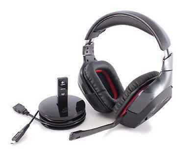 Logitech Wireless Gaming Headset G930 Kophörer Funk in OVP