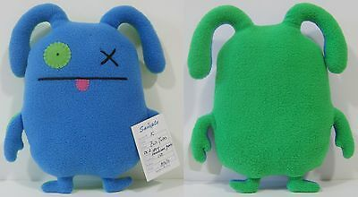"INSANELY RARE! 10"" PROTOTYPE EVIL TWINS OX DOUBLE TROUBLE UGLYDOLL w/ Sample Tag"