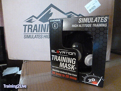 MMA Crossfit Yoga - Large Elevation Training Mask 2.0 - Free Shipping to Cont US