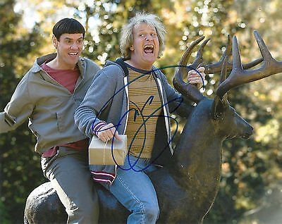 JEFF DANIELS 'DUMB AND DUMBER' HARRY DUNNE SIGNED 8X10 PICTURE *COA 3