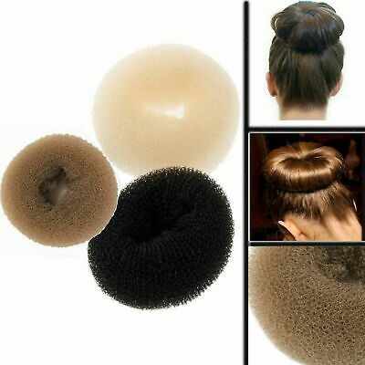 Hair Bun Donut Maker Sponge Ring Updo Styler Magic Doughnut Shape Round Foam Net