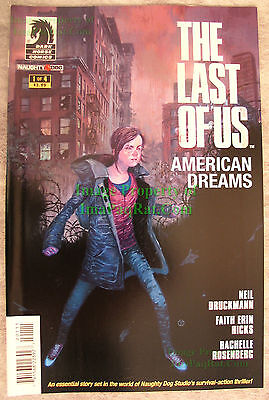 The Last of Us American Dreams #1 1st Print EXCELLENT UNREAD  Naughty Dog! NICE!