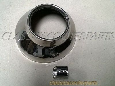 Honda SH125 SH150 exhaust muffler end pipe stainless steel cover cap  H2673