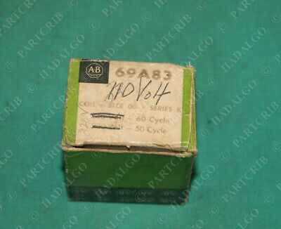 Allen Bradley, 69A83, Coil Size 00 230-240v Starter Relay Contactor NEW