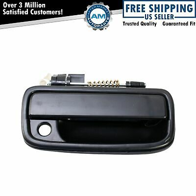 Outside Exterior Door Handle Black RH Right for 95-04 Toyota Tacoma Pickup Truck