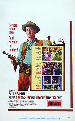 """HOMBRE "" PAUL NEWMAN   Movie Poster A1A2A3A4Sizes"