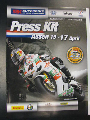 Press Kit FIM Superbike World Championship Assen, 20th Edition April 2011