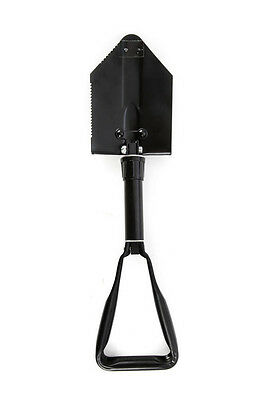 Folding Shovel In Pouch - For 4x4 Recovery, Camping, Etc.