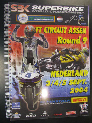 Press Kit FIM Superbike World Championship Assen, 3-4-5 September 2004