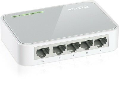 TP-LINK TL-SF1005D 5 Port 10/100Mbps Desktop Switch