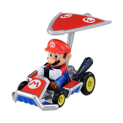 New Tomica Takara Tomy MARIO Kart 7 Nintendo Car with Super Kit Toy Diecast