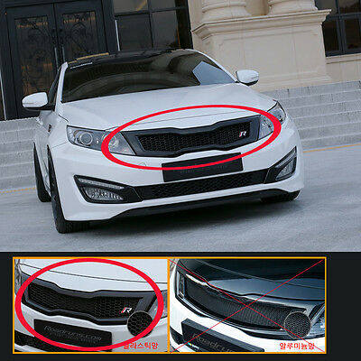 (Fits: KIA 2011-2013 Optima K5) NEW Front Hood Radiator Grille 2 type Roadruns