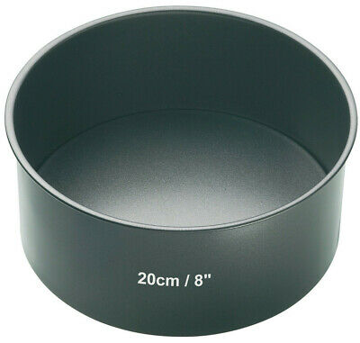 Master Class Professional 20cm / 8 Inch Deep Round Non Stick Cake Tin